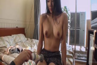 A creamed pussy for Miho Wakabayashi after a japanese blowjob - JavHD