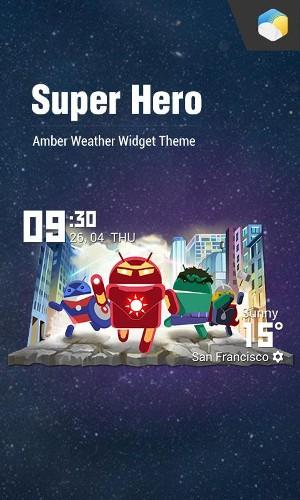 Android SuperHero Screen 5