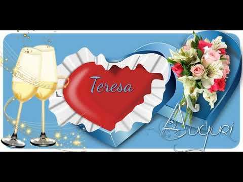 Tanti Auguri Di Buon Compleanno Teresa