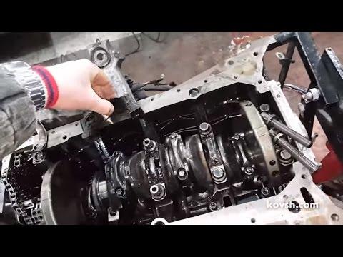 Почему стуканул вал Mercedes Benz Sprinter 313CDI, OM611 2 1d