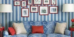 Carols Carpet Flooring America posted 15 Impressive Rooms That Boast Patriotic Decor