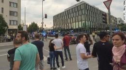 First Methodist Church posted Munich shooting: 9 victims, gunman dead