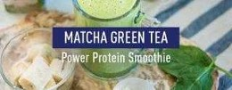 In-Shape posted Matcha Green Tea Power Protein Smoothie