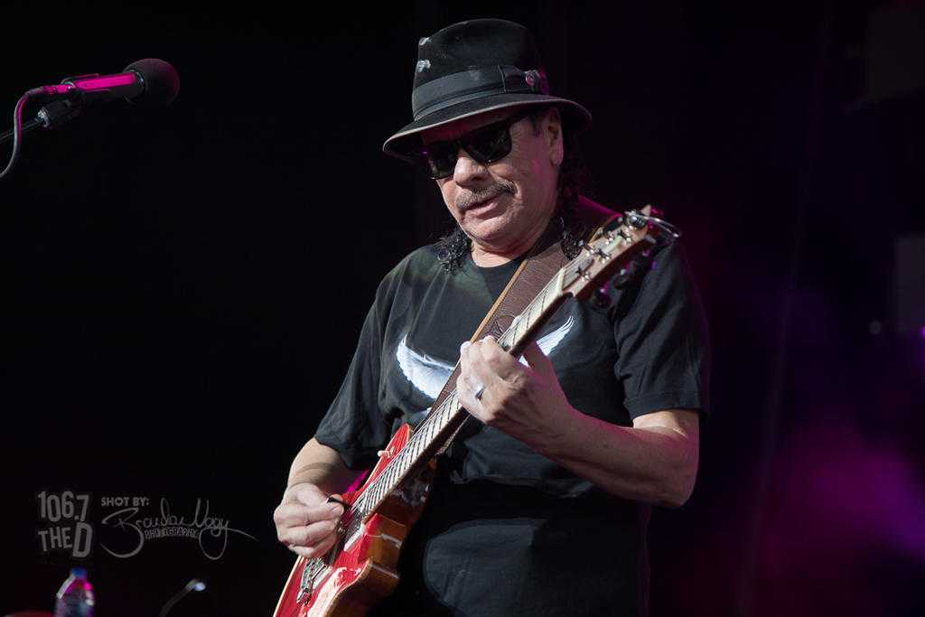 """KTCL 93.3 FM posted Carlos Santana """"While My Guitar Gently Weeps"""""""