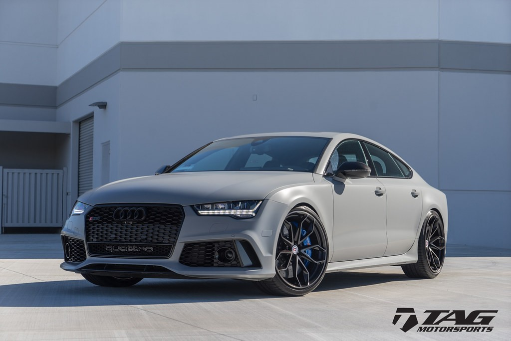 Hre Wheels Audi Rs7 With Hre P201 Wheels In Two Tone 6speedonline Porsche Forum And