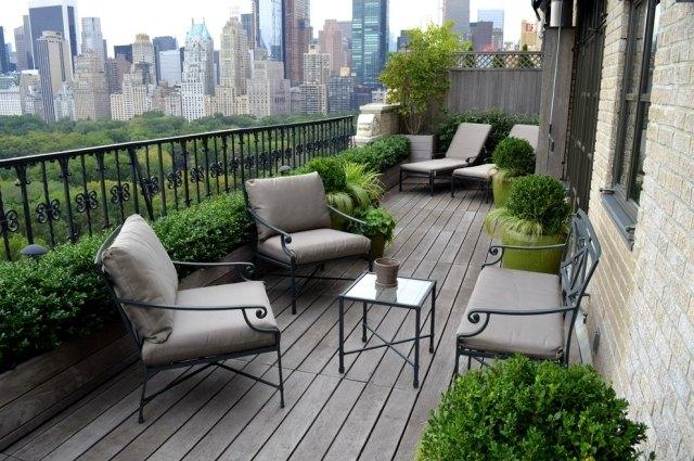 Garten moy: balkon gestalten balkon sichtschutz bambus balkonpflanzen
